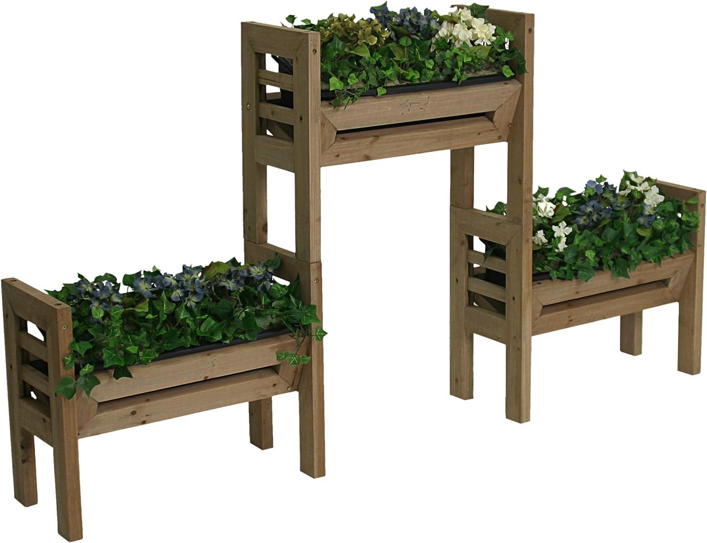 Algreen 00120 Stack n Garden Modular Planters
