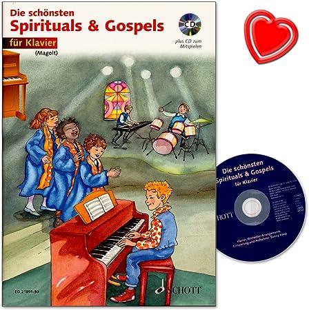 Los más bellos espirituales y gospels – Piano para ...