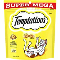TEMPTATIONS Super Mega Cat Treat, Adult, Tasty Chicken 350g Bag