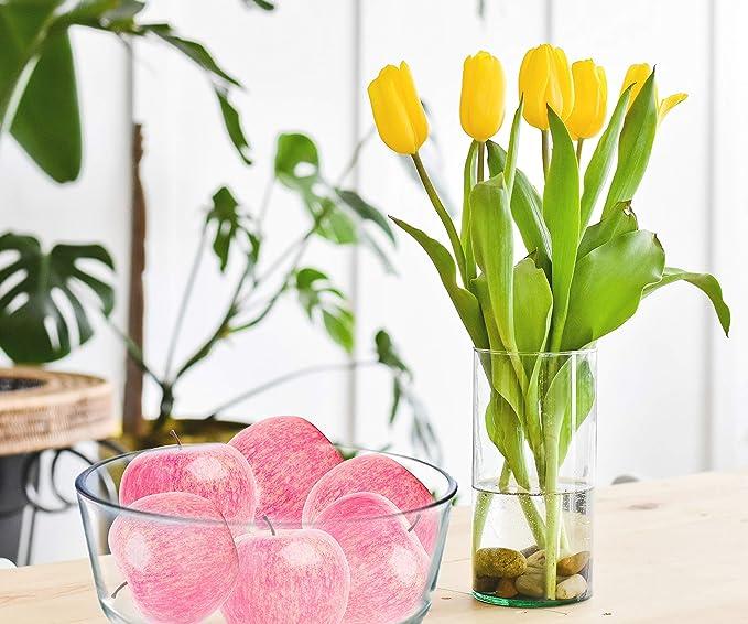 Palais Essentials Kitchen Decor Artificial Lifelike Fruits Home Decoration Fake Foam Fruit Set of 12 Limes