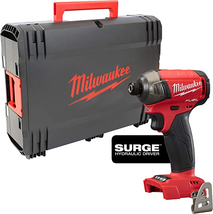 Impact Wrench Quietly Milwaukee M18 Fuel Fqid 0 X Battery And Charger Not 4933459187 Baumarkt