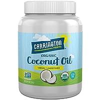 Carrington Farms Gluten Free, Unrefined, Cold Pressed, Virgin Organic Coconut Oil...