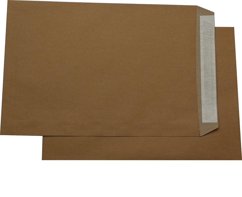 Briefumschläge DIN A4 C4 extra stark 120 gr 1000 St HK braun mit Fenster