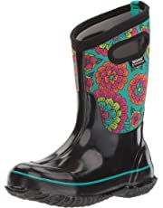 7e5057fae75e Bogs Kids Classic High Waterproof Insulated Rubber Rain and Winter Snow Boot  for Boys