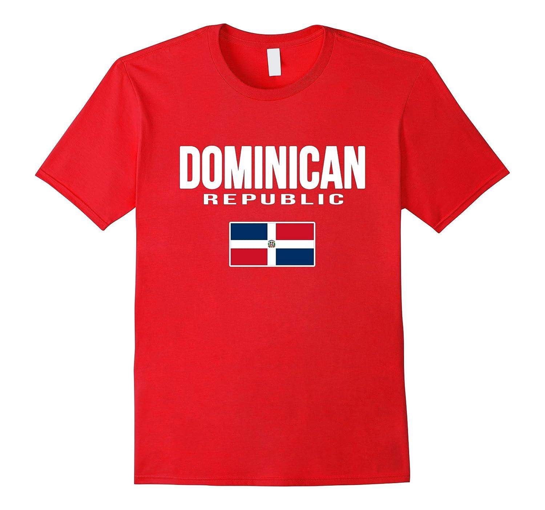 DOMINICAN REPUBLIC T-shirt Flag Tee Travel Souvenir Vacation-BN
