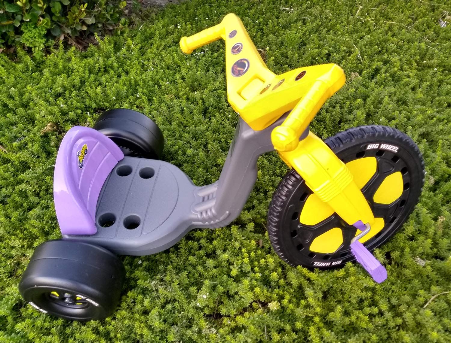 The Original Big Wheel Trike 16'' Gray & Purple