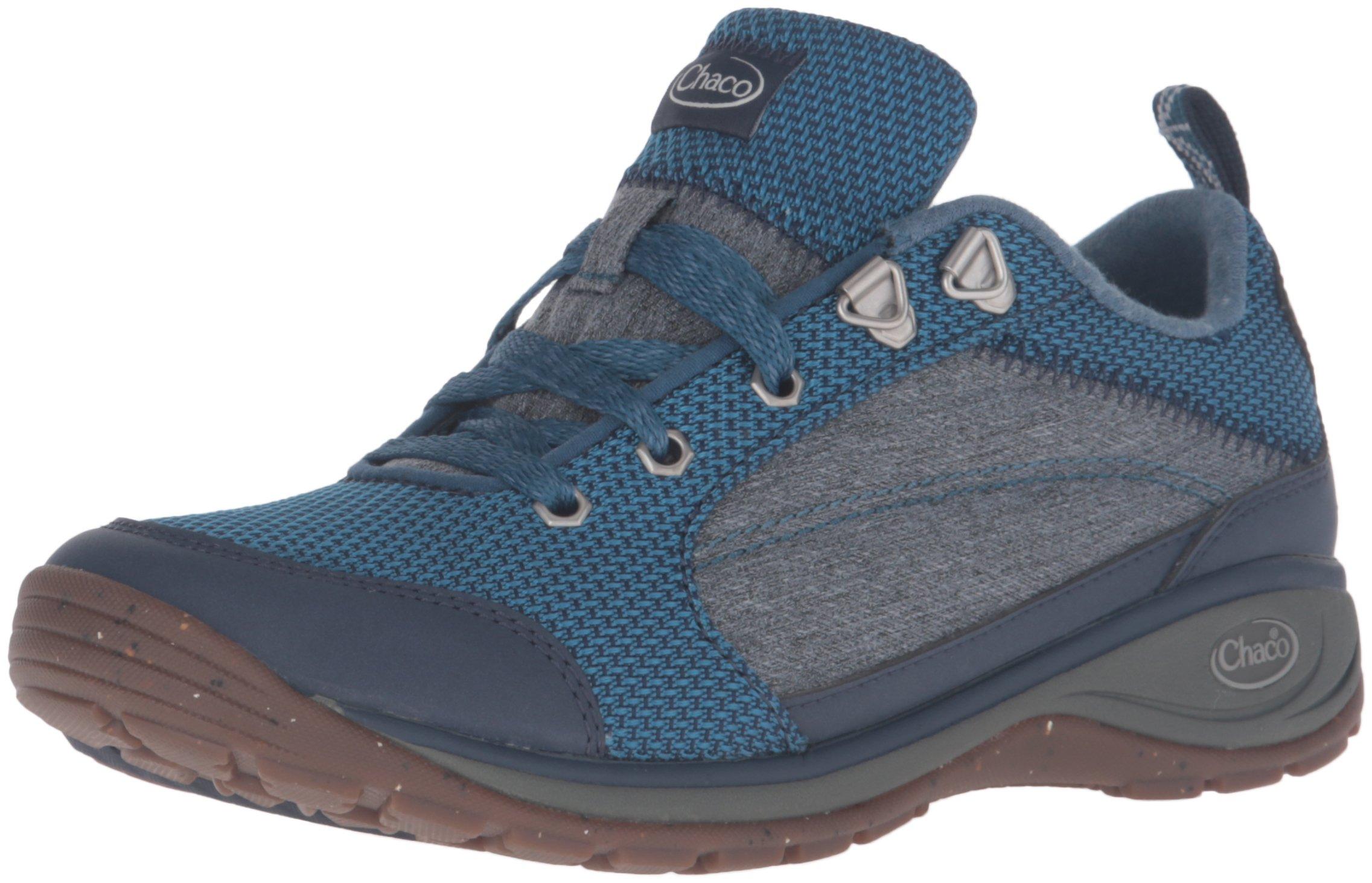 Chaco Women's Kanarra-W Hiking Shoe, Indigo, 7 M US