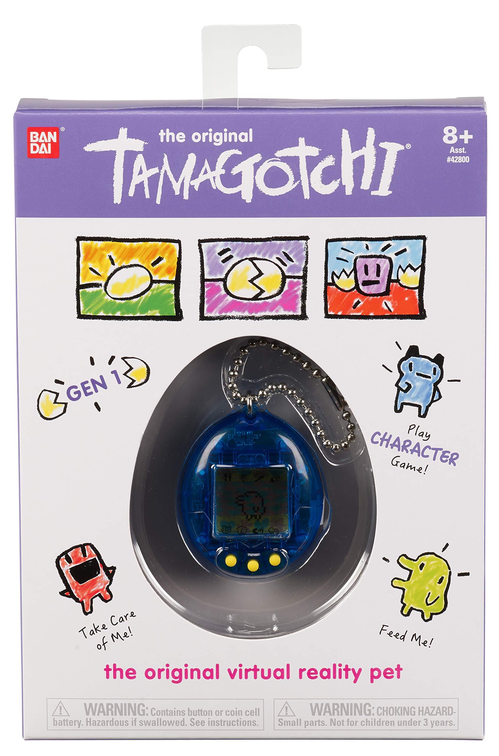 Tamagotchi Electronic Game, Translucent Blue by Tamagotchi (Image #2)