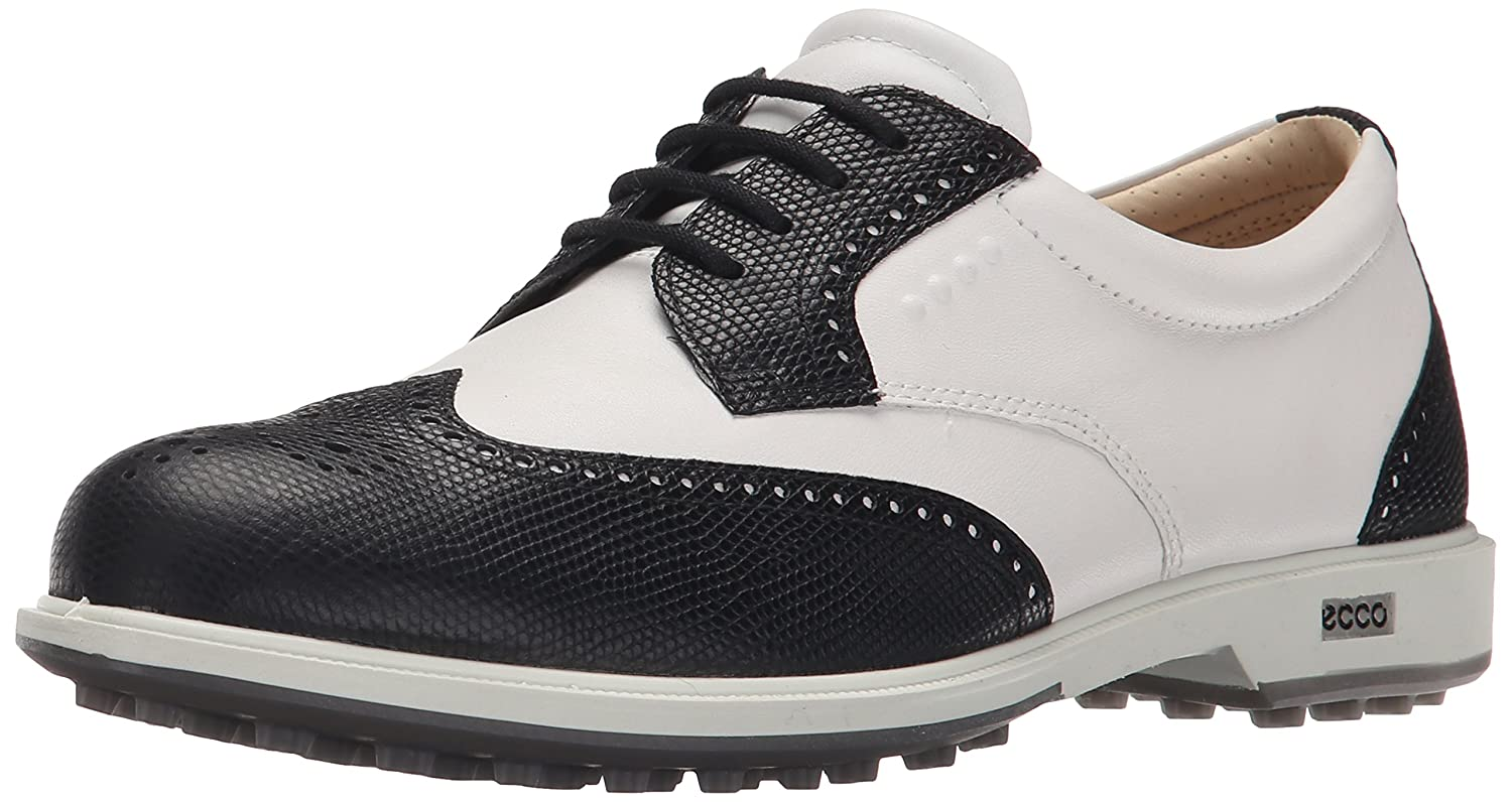 ECCO Women's Classic Hybrid Golf Shoe B010RX1OJA 42 EU/11-11.5 M US|Black/White