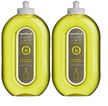 Method Squirt Lemon Ginger Laminate Floor Cleaner