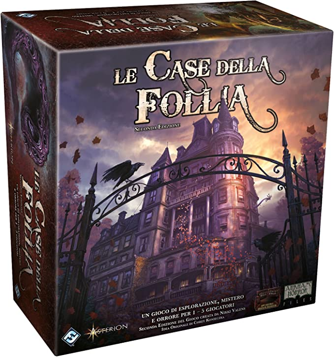 Asmodee-Le Case Della Follia 2A Edition, Juego de Mesa, Color, 1-5 Jugadores, 9400: Amazon.es: Juguetes y juegos