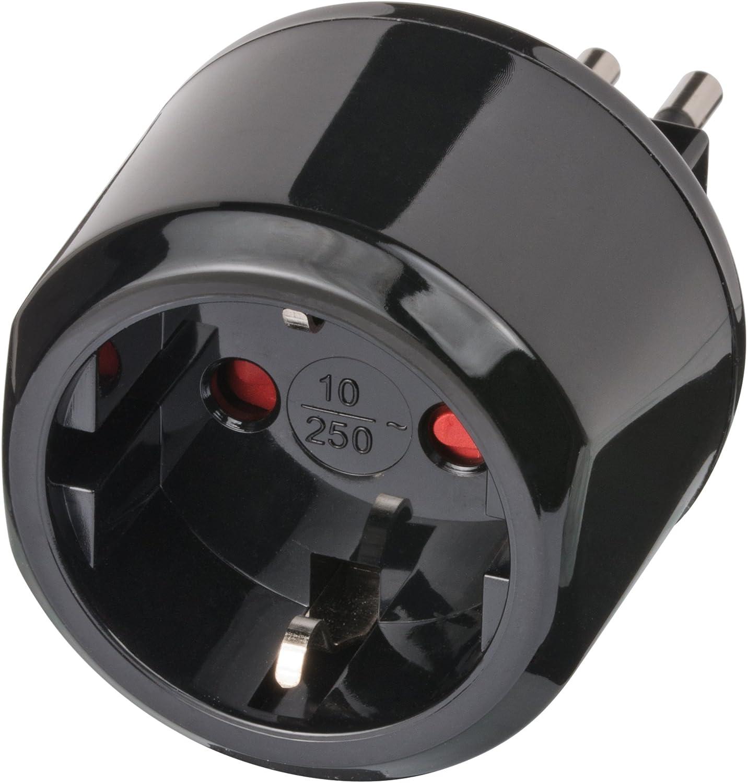 brennenstuhl reisestecker adapter steckdosenadapter reise. Black Bedroom Furniture Sets. Home Design Ideas