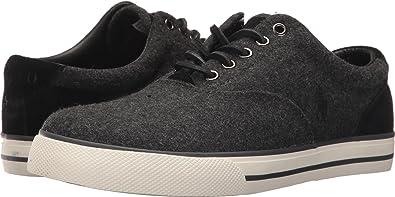 Polo Ralph Lauren Men's Vaughn Sneaker, Charcoal Heather, 11 D US