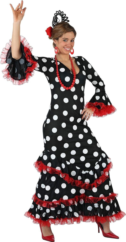 Atosa - Disfraz de sevillana para mujer, talla 38-40 (97161 ...