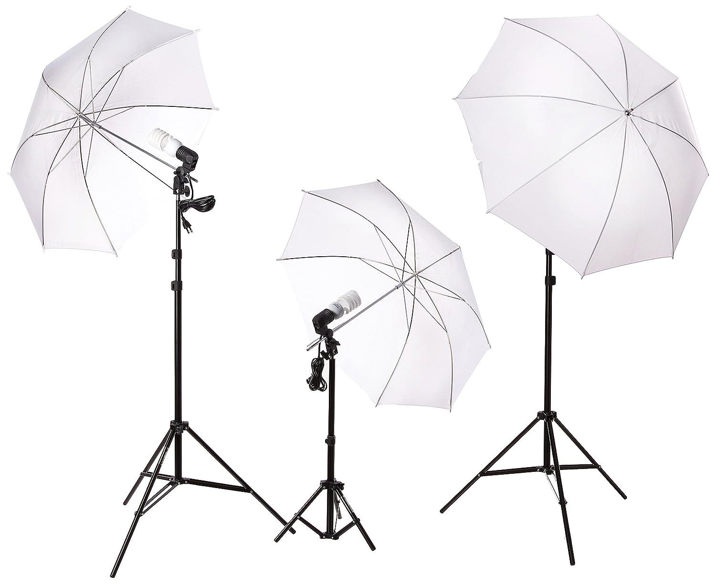 7487d2f1f561 Amazon.com : ePhoto Dk3 600 Watt Continuous Lighting Kit with 2 each ...