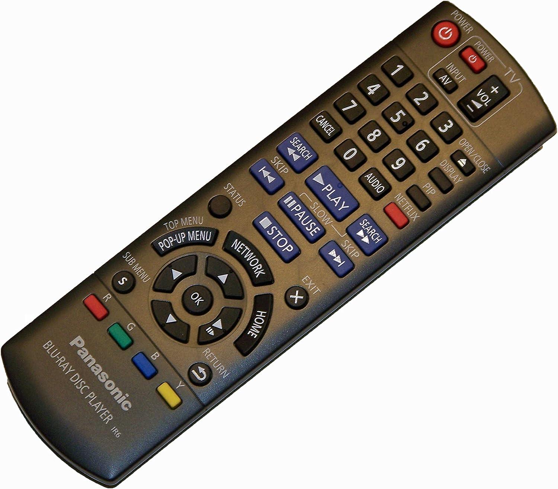 DMP-BD75PC DMP-BD755P DMP-BD755 DMP-BD75P OEM Panasonic Remote Control Originally Shipped with DMP-BD75