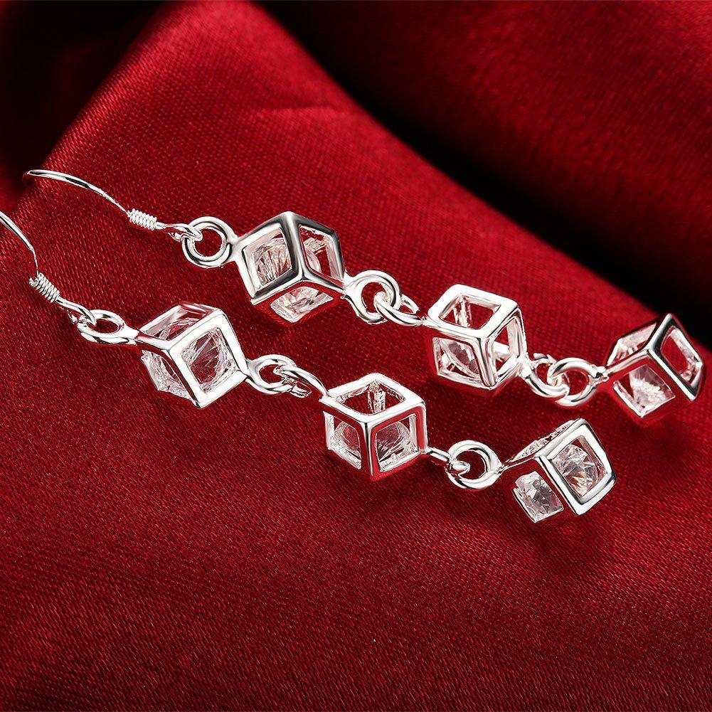 LEKANI Ms Earrings Crystal Gem Personalized Charm 2018 New Earrings LKNSPCE206
