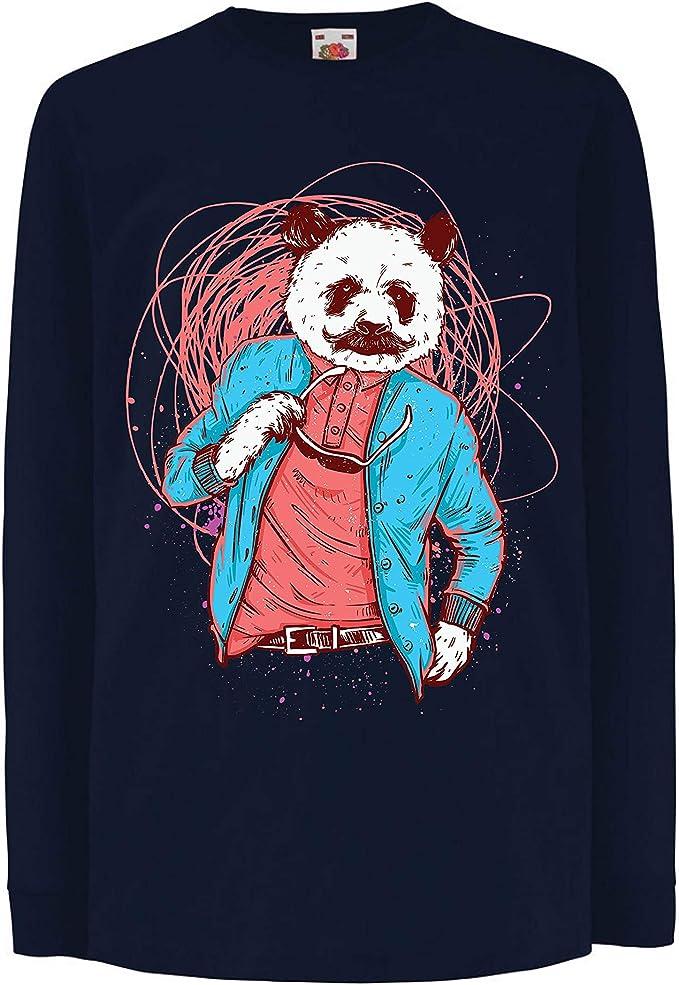 lepni.me Camiseta para Niños Panda Moderna, Ropa Urbana, Graciosa gráfica.: Amazon.es: Ropa y accesorios