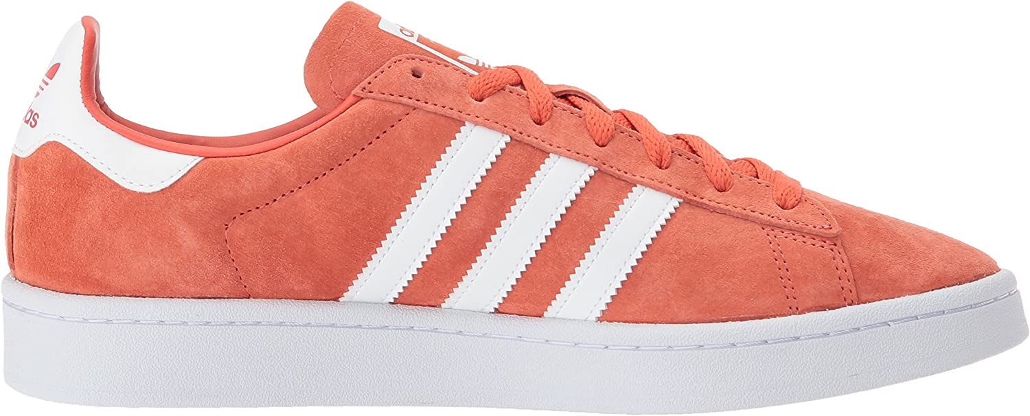 adidas Originals Men's Super Star Campus Fashion Sneaker Trace Scarlet/White/White