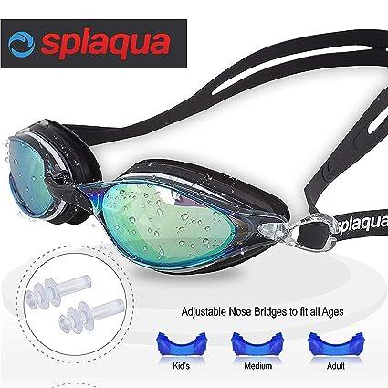 75f6b161d6f8 Amazon.com  Splaqua Swim Goggles
