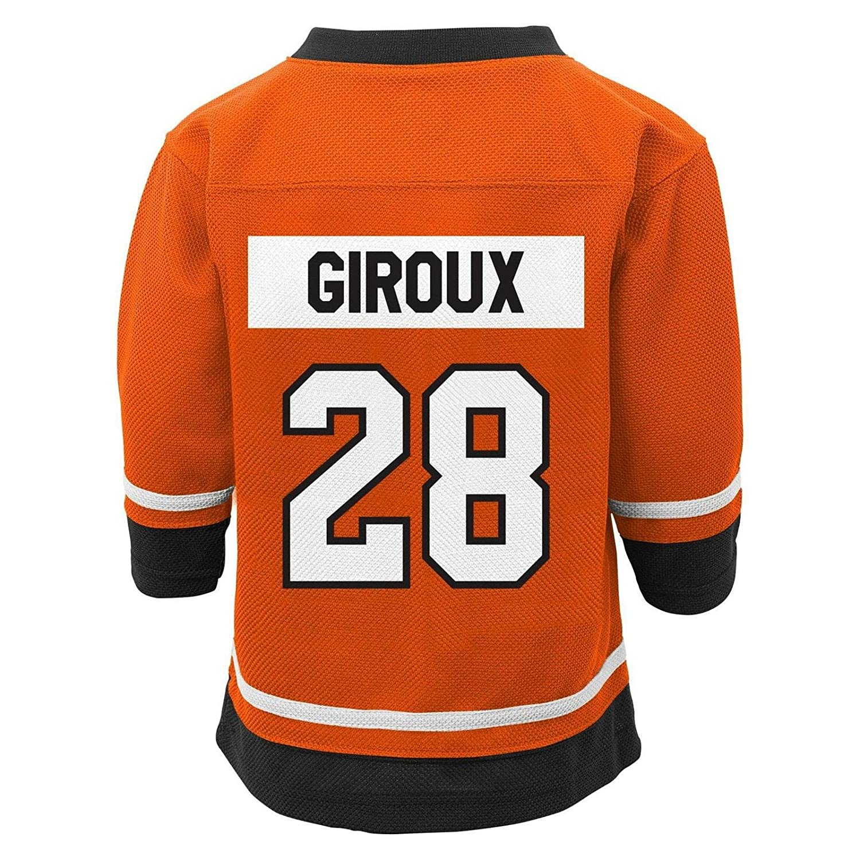 70ec2f42e Amazon.com  Outerstuff Claude Giroux Philadelphia Flyers  28 Youth Home  Fashion Jersey  Clothing