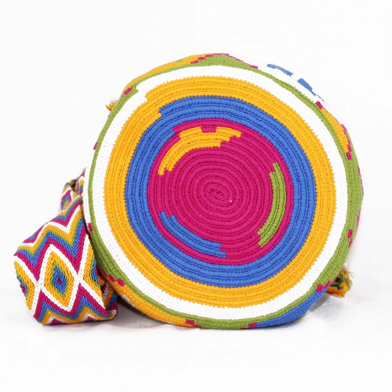 Amazon.com: Wayuu Mochila, bolsa de hombro tejida a mano ...