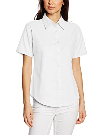 Fruit of the Loom Ladies Bluse Oxford