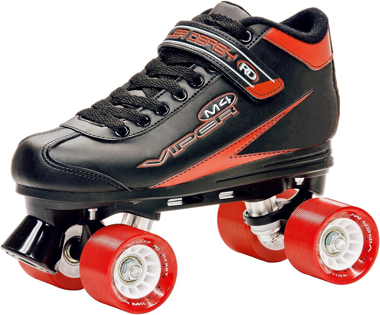 Roller Derby Mens Viper M4 Speed Quad Skate