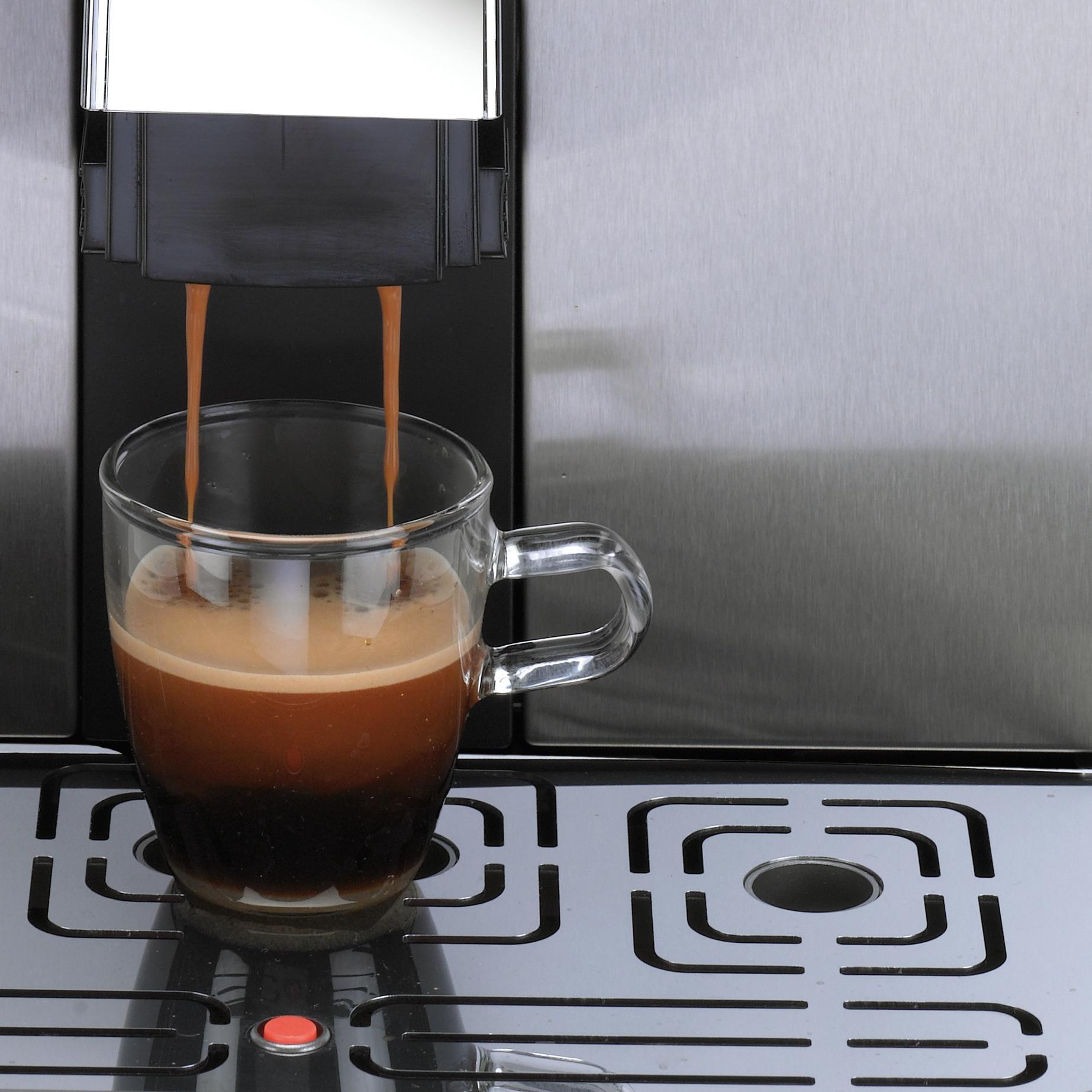 Gaggia Brera Super Automatic Espresso Machine in Silver. Pannarello Wand Frothing for Latte and Cappuccino Drinks. Espresso from Pre-Ground or Whole Bean Coffee. by Gaggia (Image #10)