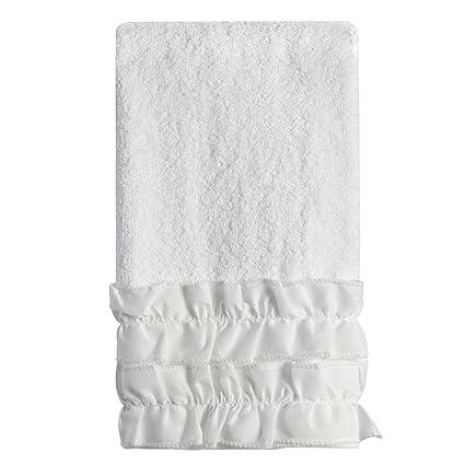 Productos de baño Creativo Volantes Toalla de Punta de los Dedos
