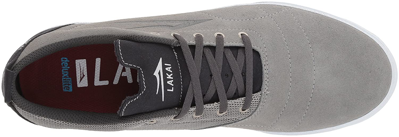 Lakai Limited Footwear Mens US|Light Bristol B073SPPJ6B 7.5 M US|Light Mens Grey/Charcoal Suede d43c72
