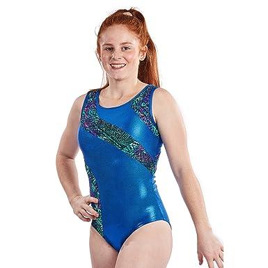 2263cff87942 Amazon.com  Girls Gymnastics Leotard Aztec Fabric  by Lizatards ...