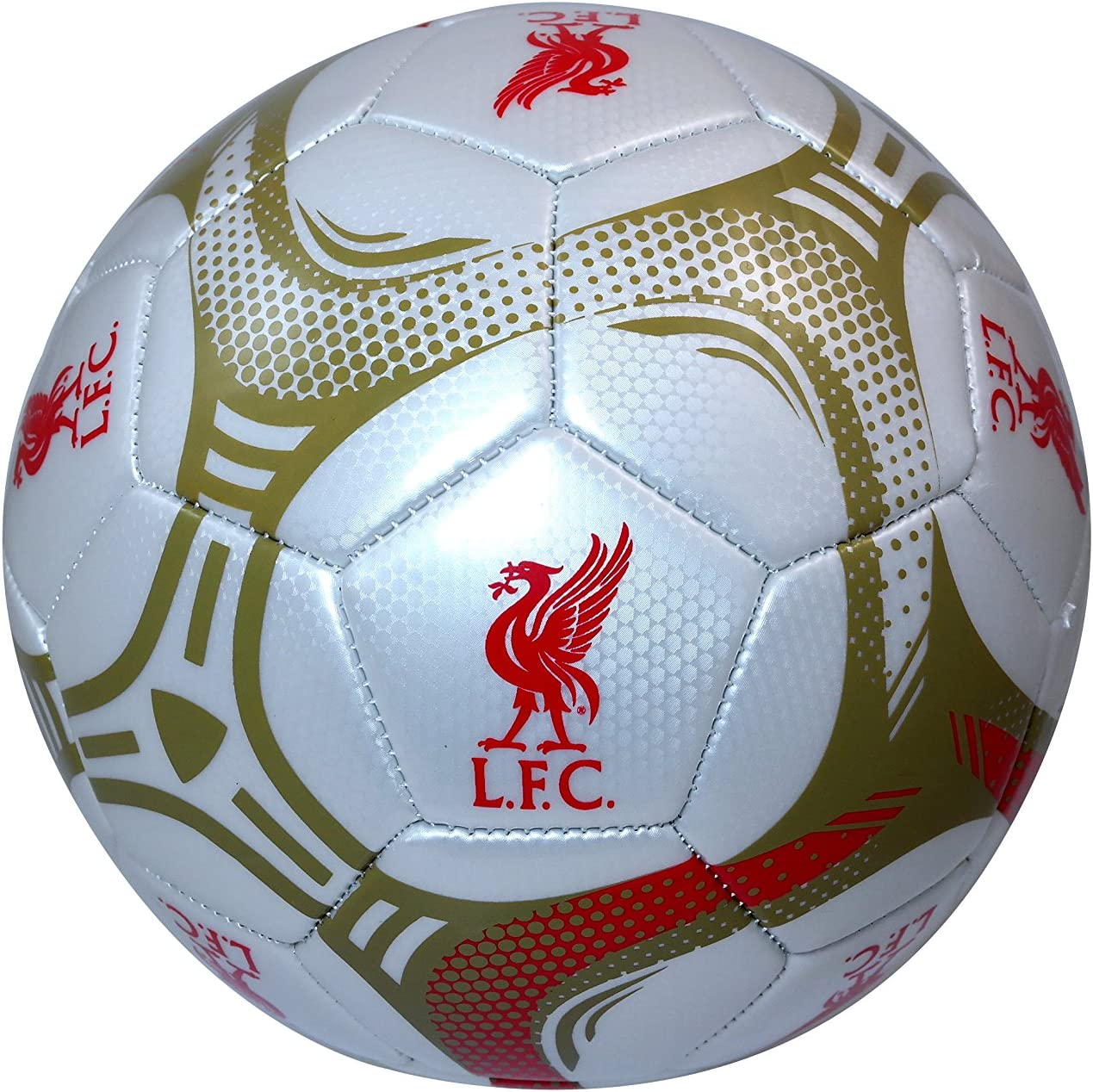 Liverpool F.C Authentic Official Licensed Soccer Ball Size 5-009