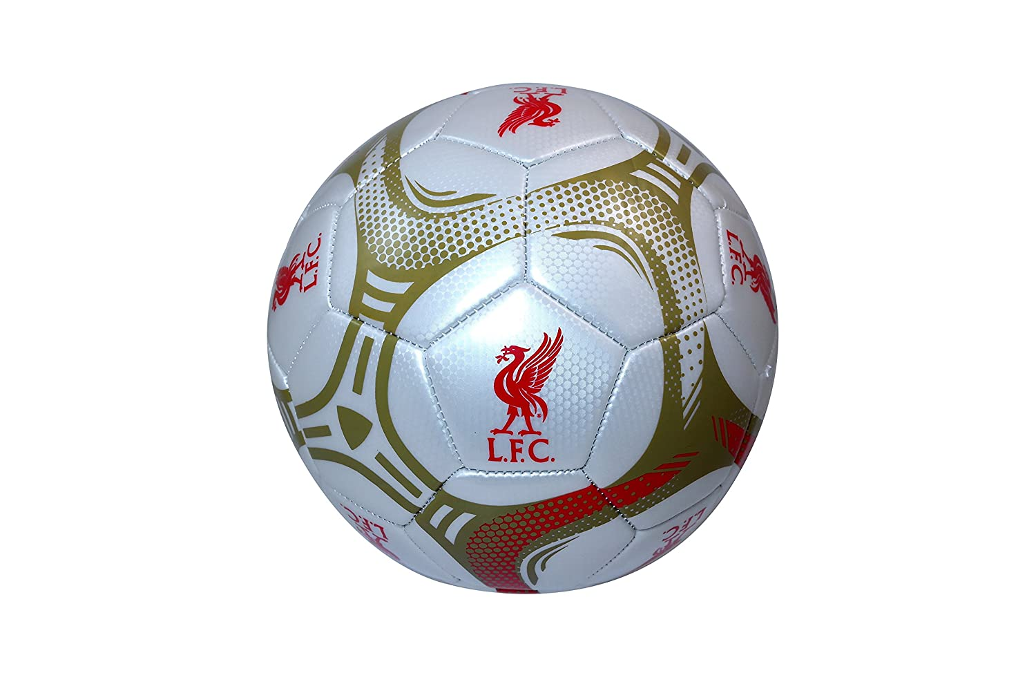 Liverpool FC Authentic Official Licensedサッカーボールサイズ5 -002   B01NGTXL4Z