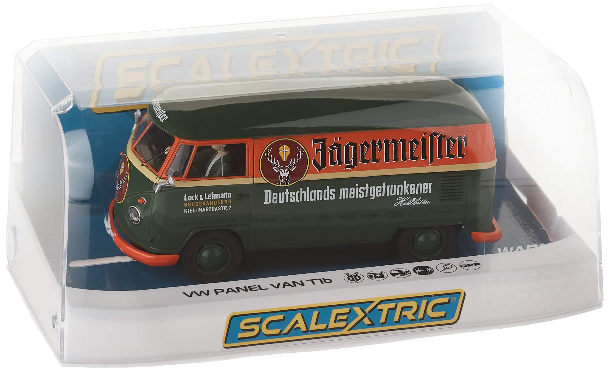 Scalextric Volkswagen Jagermeister Panelvan 1:32 Slot Race Car C3938 by Scalextric (Image #3)