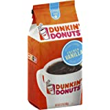 Dunkin' Donuts Ground Coffee, French Vanilla, 12-Ounce Bag