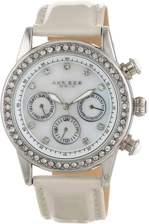Akribos XXIV AK556SSW - Reloj para Mujeres
