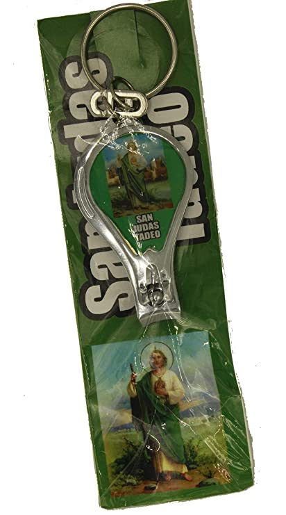 Amazon.com : St Jude Thaddeus Mexico Key Chain Nail Clipper - San Judas Tadeo Cortaúñas Key Chain : Everything Else