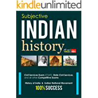 Indian History : Subjective: For all competitive exams