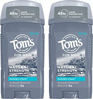 product image for Tom's of Maine Men's Natural Strength Deodorant for Men, Rugged Coast, 5.4 Ounce