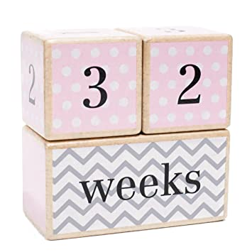 Baby Keepsakes & Baby Announcements 2019 New Style Baby Milestone Age Blocks Infant Photo Prop Pictures For Weeks Months Years Gr