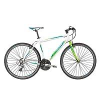 Bicicleta Híbrida Bikesport TEMPO RACE 28 pulgadas Aluminio Bike Shimano 21 velocidades