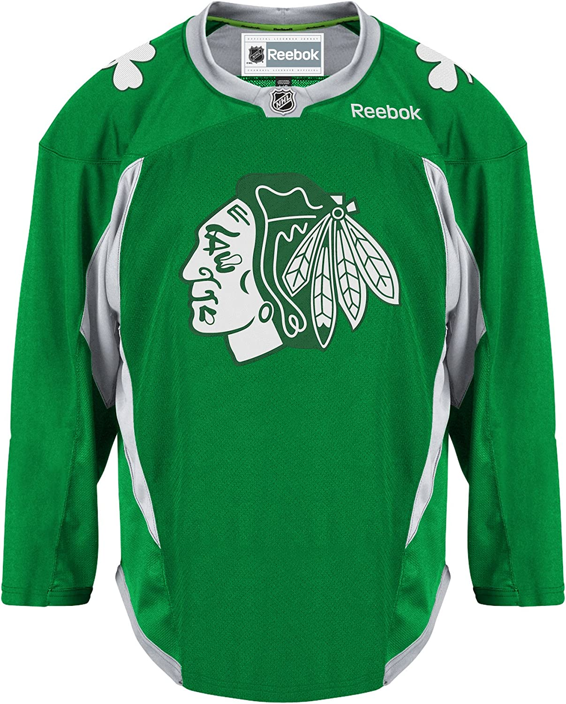 Chicago Blackhawks Ladies St Patricks Day Replica Jersey