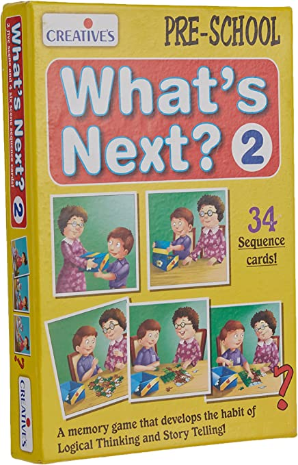 CREATIVE EDUCATIONAL Pre-School What/'s Next II