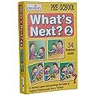 Creative Educational Aids P. Ltd. What's Next - 2 Card Game (Multi-Color, 34 Pieces)