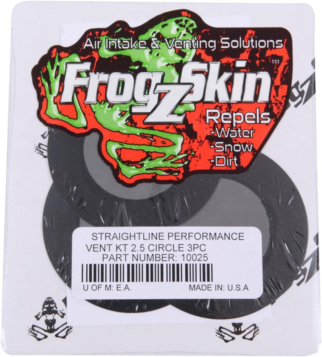 Frogzskin 10025 CIRCLE 2.5OD X 1.5ID VENT KIT QTY3