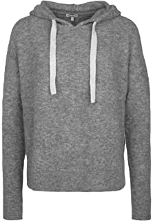 BETTER RICH Strickpullover 'HOODY BOXY' in grau Mit Kapuze