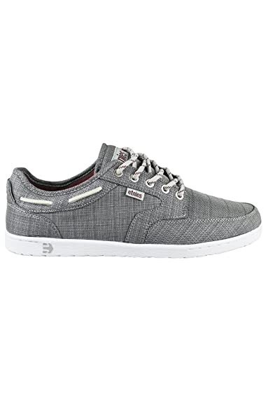 Etnies Dory COL 383 Grey Red White Mens Skate Shoes Trainer