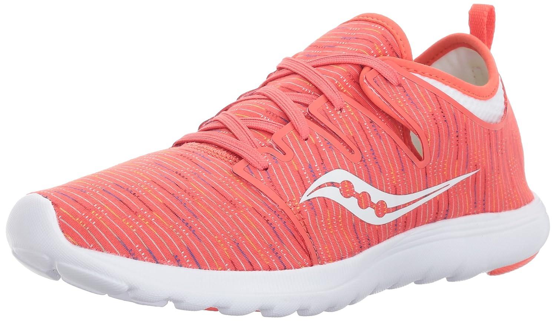 Saucony Women's Eros Sneaker B01N0THY20 10 B(M) US|Coral Multi