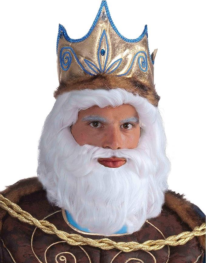 Greek Mythology King Neptune Wig